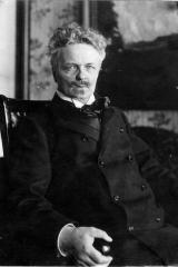 August Strindberg Foto: Anton Blomberg 1906
